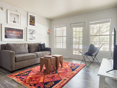 Photo for Central 2BR at The Domain by Sonder
