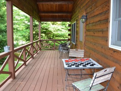 Photo for Log Cabin  Getaway in Thornhurst Country Estate
