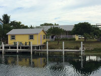 Photo for 2 houses 4 Bedroom With Dock $250.00 for main house, golf cart for $50 per day