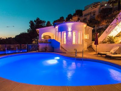 Photo for Holiday house Moraira for 6 persons with 3 bedrooms - Holiday house