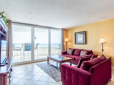 Photo for Gulf Front Perdido Sun Condo with Beach View ~ Great Resort Amenities!