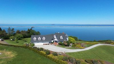 Photo for Dungeness Bay Waterfront Estate, Water and Mountain Views, Spacious and Private