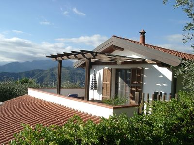 Photo for Holiday apartment in detached house with astonishing view
