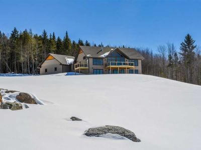 Photo for Stowe Home on 6 Acres w/ Mtn & Lake Elmore Views!