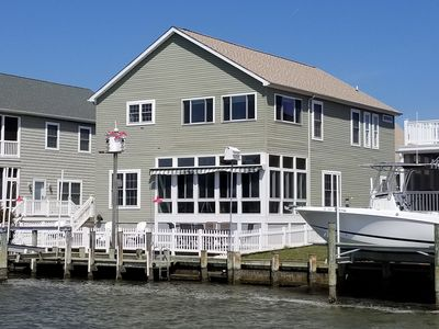 Waterfront of house