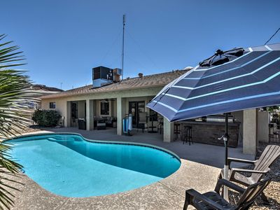 Photo for NEW! Lake Havasu House w/Pool, Patio Area & Grill!