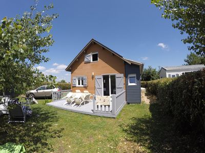 Photo for Chalet of 60 m² for seaside holidays