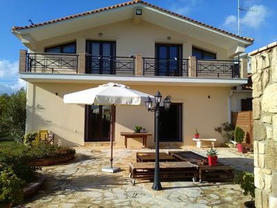 Photo for The Villa is located in the village of Tragaki with Great Views