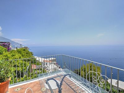 Photo for Villa Marica: A bright and sunny apartment located in the center of Positano, with Free WI-FI.