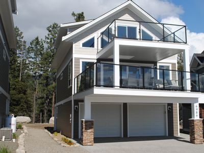 Photo for Kelowna New Cottage, Stunning Views, Large Yard, Backing onto the Forest