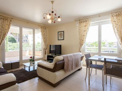 Photo for Two bedroom accommodation in new secured building in Cannes near the Palais