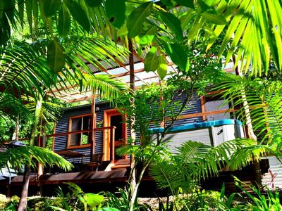 Photo for Waterfall Hideout-Rainforest Cabin for Couples