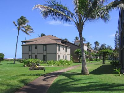 Photo for Kauai - Top Floor/Beach Front Condo at Pono Kai Resort in Kapaa