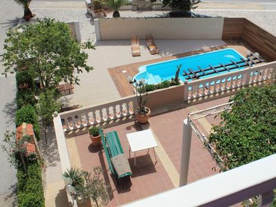 Photo for One bedroom apartment with terrace and sea view Tučepi (Makarska)