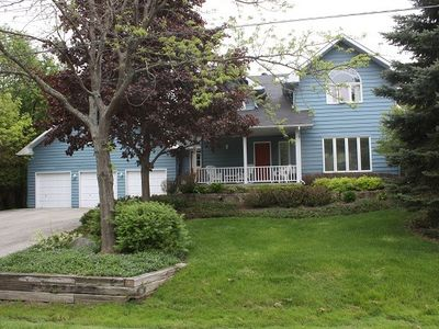 Photo for Our 4-bedroom Home Is On A Large, Private Lot In A Great Neighbourhood