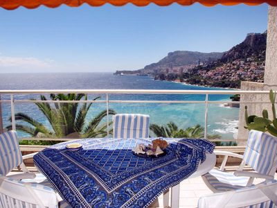 Photo for Apartment Residence Parc Massolin  in Roquebrune - Cap - Martin, Côte d'Azur - 6 persons, 3 bedrooms