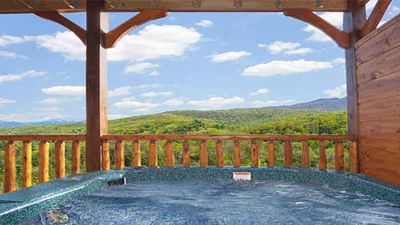 Photo for 9 BR Lodge in Gatlinburg Falls Gorgeous Mt. Views, Home Theater, Arcade, Hot Tub