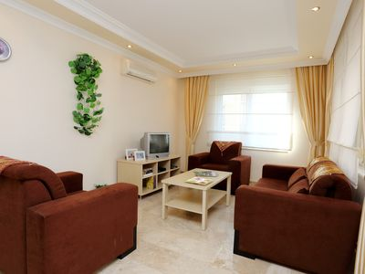 Photo for Luxury apartment in quiet district of Cikcilli from the bustling resort of Alanya.