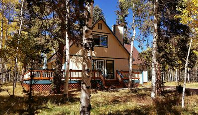 Photo for Autumn Colors Getaway - Cozy Mountain Cabin on Five Beautiful, Wooded Acres