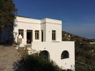 Photo for Traditional house in Tinos. spectacular view of the valley. 15 minutes from the port.
