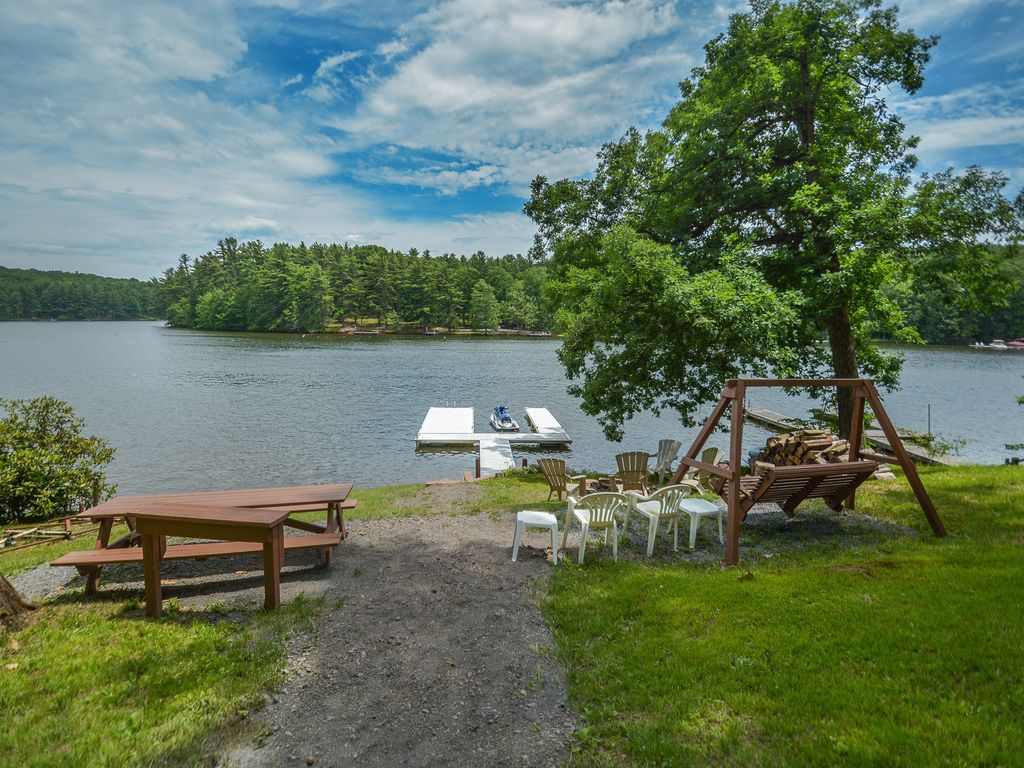 Lake front home with private dock & views! - VRBO