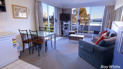 Photo for Horizons Resort 405 -  Central Lakefront Jindabyne Apartment with resort amenities