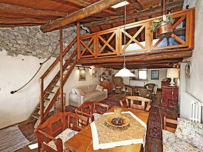 Photo for Authentic Village in Beautiful Scenery - Rustic Casa al Ponte