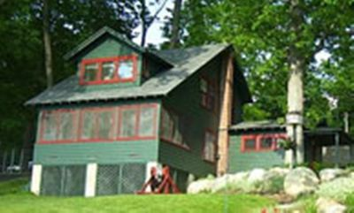 Photo for The Crawford House is a 3 bedroom Adirondack-style lake  house