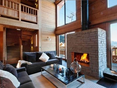 Photo for Chalet La Tania, 5 bedrooms, 12 persons