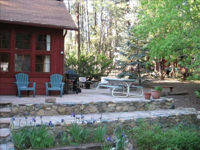 Photo for RUSTIC & CHARMING CABIN ON GROOM CREEK...  NO EXTRA CLEANING FEES !!