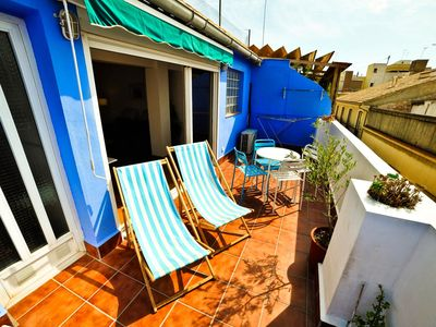 Photo for Central and quiet apartment with Sonninger terrace in historic El Carmen district