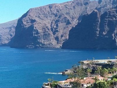 Photo for Modern apartment. Sea and Cliff Views - Wi-Fi - Air Condition - Parking(for fee)