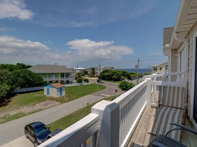 Photo for Kure Castle - Fantastic ocean view 4 bedroom townhouse with pool access!