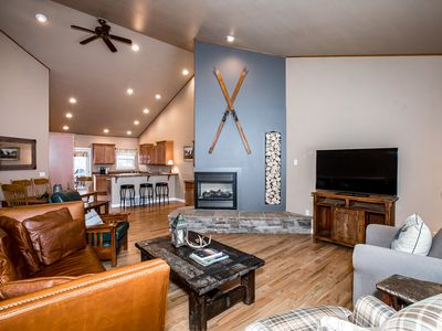 Photo for Beautiful Townhome Just Minutes from Big Mountain & Downtown Whitefish! Sleeps 9