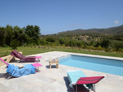 Photo for Casa Sicreta, Villa standing 8 pers with heated pool & AC, Lozari Corsica