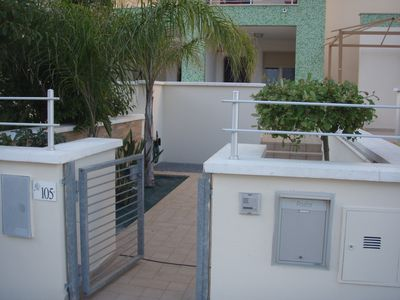 Photo for Elegant villa just 70 meters from the Lido San Giovanni with private garden