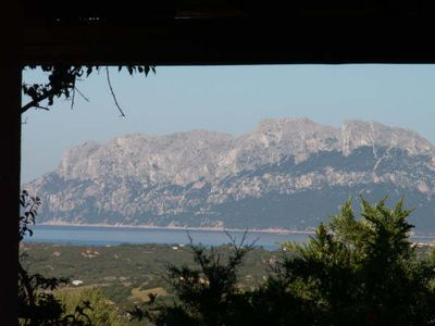 Photo for Villa with spectacular view of the gulf of Olbia, max 8, near beaches