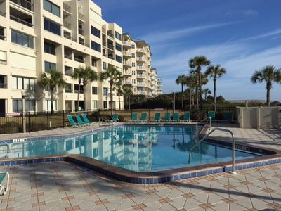 Photo for BEAUTIFUL FIRST FLOOR OCEANFRONT - CONVENIENT TO BEACH AND POOL!  EASY ACCESS!