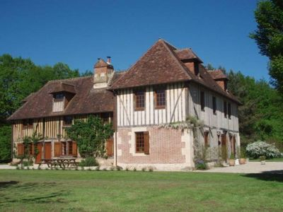 """Photo for Manor from Normandy (17th century), """"4 epis"""" Gîtes de France, natural setting"""