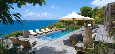 Villa Amancaya  -  Ocean View - Located in  Fabulous Anse des Cayes with Private Pool