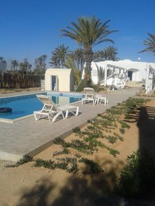 Photo for Djerba Villa 3 CaC access to swimming pool, Beach to 1000 m