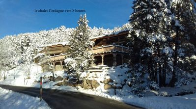 Photo for Ker Cerdagne Atout France-Chalet-Mountain View-Family-Ensuite with Bath