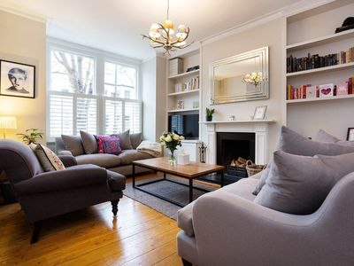 Photo for Three bedroom house in Wandsworth, perfect for family trips (Veeve)
