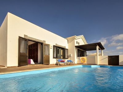 Photo for Elegant Villa with Pool, Terrace, Garden & Wi-Fi; Parking Available