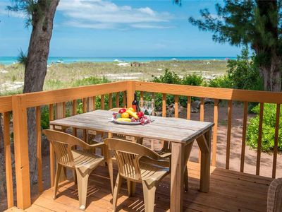 Photo for Gulf front cottage with Thanksgiving deals! Your beach getaway awaits!!