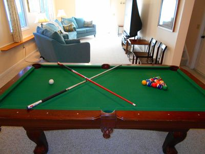Photo for QUIET NEIGHBORHOOD - POOL TABLE - FLAT SCREEN TVS - MIDDLE OF THE MOUNTAIN!