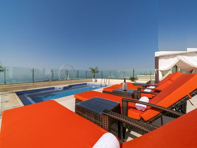 Photo for DUBAI Jbr Amazing huge PENTHOUSE of 650 m. q. Whit private Terrace roof Pool