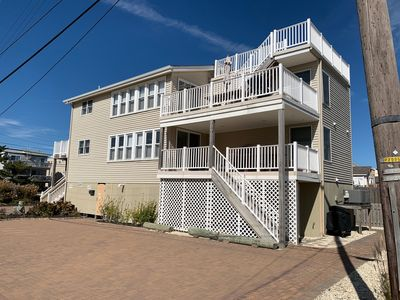 Photo for Immaculate Ocean Block Duplex - 4th from Beach