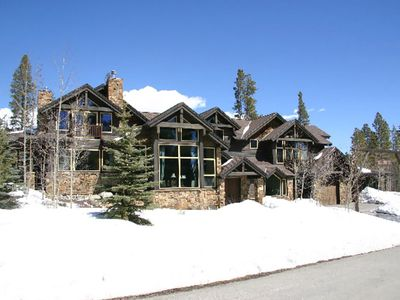 Photo for Ski In/Ski Out, Luxury Home on Peak 8, Every bedroom and En-suite, Walk to town