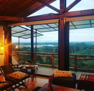 Photo for Gorgeous Secluded Cabin 6 Min to Rio Negro Airport